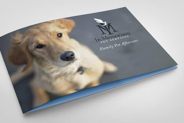 Project Thumbnail for In Memoriam Pet Services Brochure