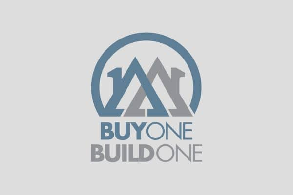 Project Thumbnail for Buy One Build One Logo