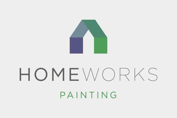 Project Thumbnail for Home Works Painting Logo