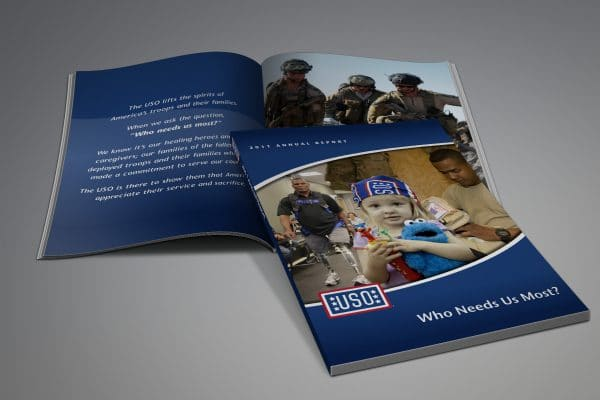 Project Thumbnail for USO Annual Report