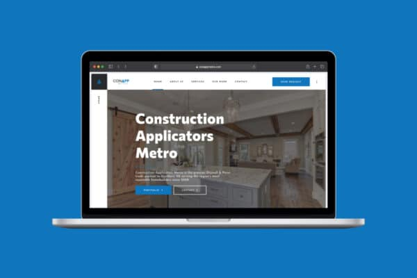 Project Thumbnail for Construction Applicators Metro