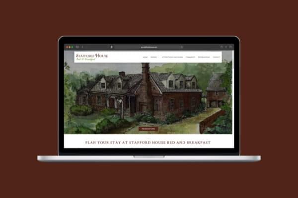 Project Thumbnail for Stafford House Bed and Breakfast